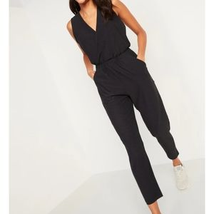 NWT Old Navy faux wrap Jumpsuit